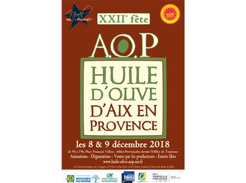 Fête de l'huile d'olive AOP Aix en pce 2018