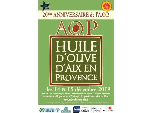 Fête de l'huile d'olive AOP Aix en Provence 2019